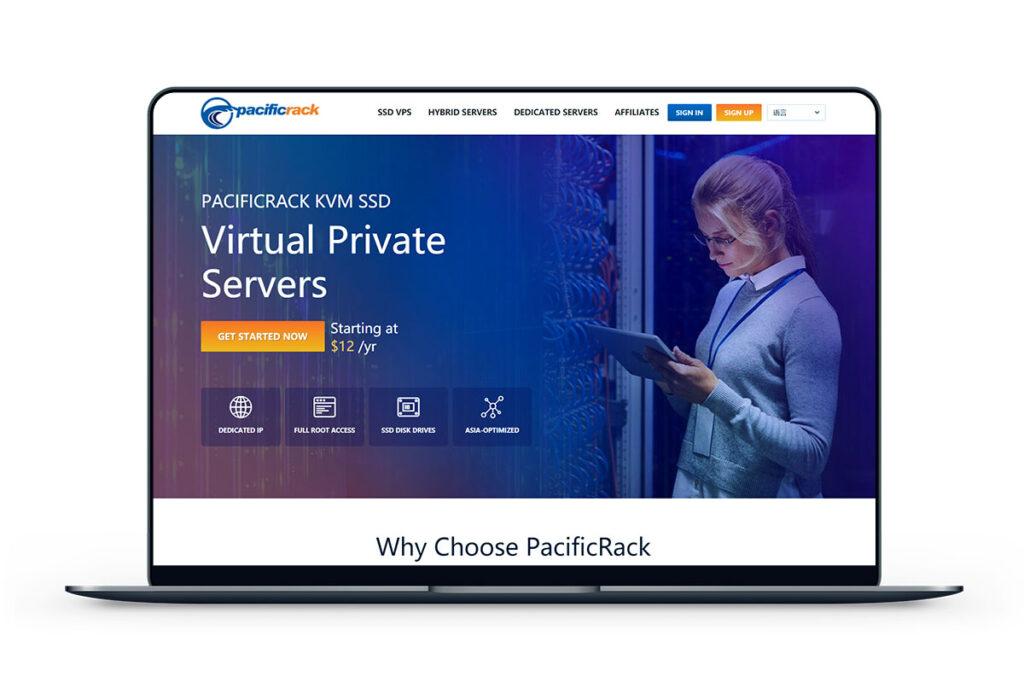 PacificRack-洛杉矶PR 1C1G20G1T年付12美元-米算网