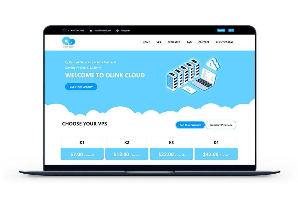 Olink.Cloud-圣何塞带宽1G月付5.6美元-米算网